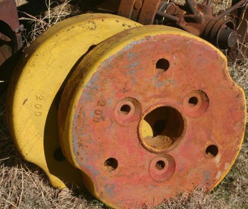 Tractor Rear Wheel Weights Ebay