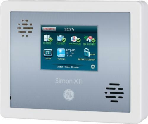 simon xt panel home security ebay. Black Bedroom Furniture Sets. Home Design Ideas