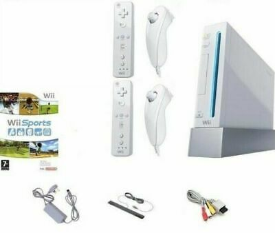 Nintendo Wii Console -  2 Player Sports Bundle - Plug & Play - Gamecube