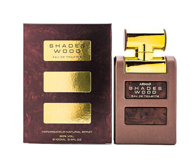 Shades Wood by Armaf 3.4 oz EDT Cologne for Men New In Box