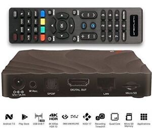 DREAMLINK T2 WITH 4K AND PVR IPTV BOX - NEW - WITH 1 MONTH IPTV