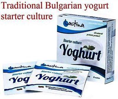 Usado, Bulgarian traditional yoghurt - Starter culture, natural-home made  – 10 sachets segunda mano  Embacar hacia Argentina
