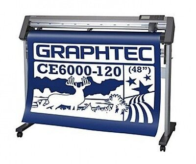 Graphtec Ce6000-120 Plus Vinyl Cutter Free Ship