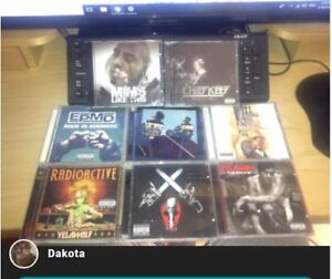 HIP HOP CD COLLECTION