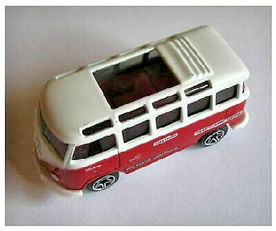 "Matchbox Red 22 Window Volkswagen VW ""They Are Here"" Bus, Mint & Loose"