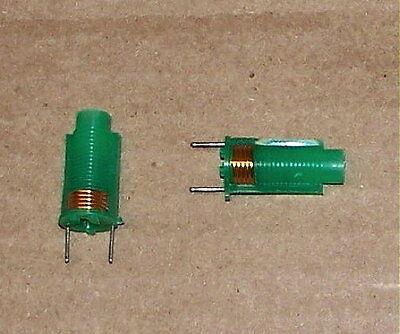 .17-.25 Variable Rf Inductor Vintage Ferrite Core Slug Radio Antenna Tuning Coil