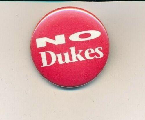 """1990 Anti David Duke from US Senate campaign 1 1/2"""" cello Louisiana LA button"""