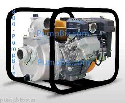 2 Gas Water Pump Self Priming Centrifugal Transfer Fire Spray. All Metal Nib