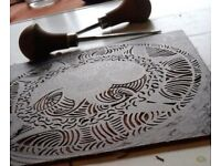 Printmaking for beginners short courses and workshops