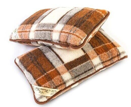 Cuscini Lana.Nuovo Merino Wool Confezione Da 2 Cuscini Lana Pieno Copertura Con