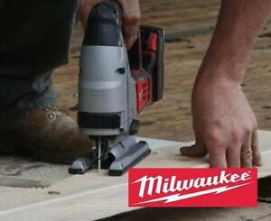 NEW MILWAUKEE CORDLESS JIG SAW 18V - 123897947 - Tools Power Tools Saws Jig Saws