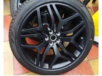 Genuine Range Rover wheels