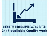 I will help you in chemistry physics mathematics tutor online