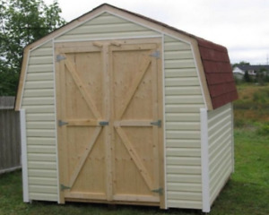 Barn Style Sheds 8 x 8