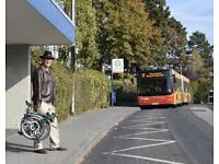 Folding Bike and Bus Adventures around Scotland