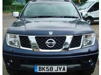 2008 NISSAN NAVARA 2.5 DCI D Cab Pick Up Outlaw 4WD NO VAT
