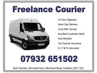 Man with Van based in Devon covering the whole of the UK, removals, courier, shipping