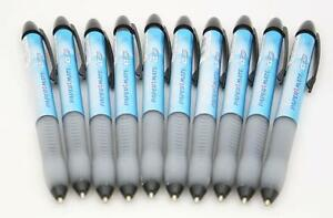 10-x-Papermate-ICEGRIP-Retractable-Ballpoint-Pens-BLACK