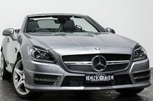 2013 Mercedes-Benz SLK250 R172 7G-Tronic + Grey 7 Speed Sports Automatic Roadster Rozelle Leichhardt Area Preview