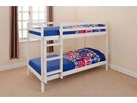 2ft6 Wooden Pine Bunk Bed
