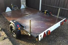 TRAILER FLATBED MOTORCYCLE OR QUAD