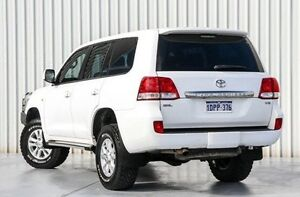 2011 Toyota Landcruiser VDJ200R MY10 GXL White 6 Speed Sports Automatic Wagon Willetton Canning Area Preview