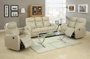 3 PCS RECLINER SET SOFA ONLY FOR 2399$
