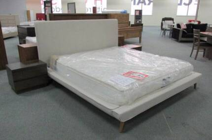 King Bed Frame - Saphire - The Clearance House