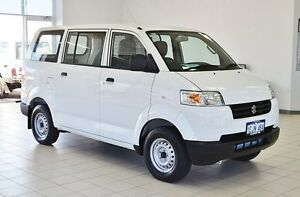 2013 Suzuki APV GD MY06 Upgrade White 5 Speed Manual Van Morley Bayswater Area Preview