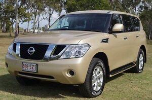 2012 Nissan Patrol Y62 ST-L Beige 7 Speed Sports Automatic Wagon Bundaberg West Bundaberg City Preview