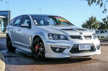 2010 Holden Special Vehicles Clubsport E Series 2 R8 Tourer Silver 6 Speed Sports Automatic Wagon East Rockingham Rockingham Area Preview