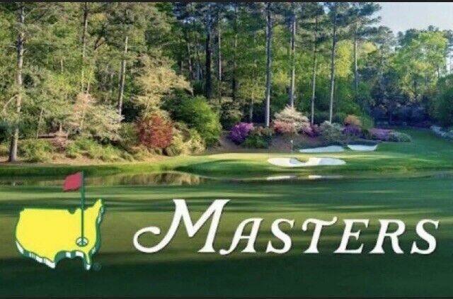 2021 Masters Golf Tickets - Tuesday  Practice Round April 6 2021
