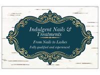 Acrylic Nails, Gel polish, Eyelashes and Eyebrows