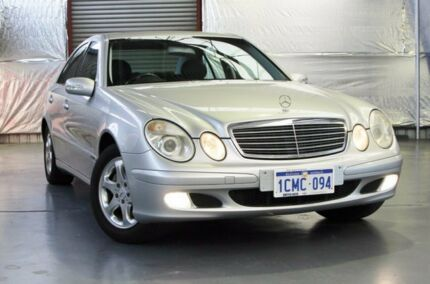 2003 Mercedes-Benz E240 W211 Classic Silver 5 Speed Sports Automatic Sedan Myaree Melville Area Preview