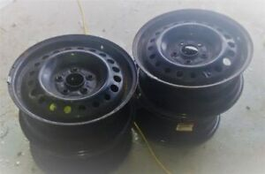 Steel Rims with electronic Tire Pressure Sensors 5-bolt 5x114.3