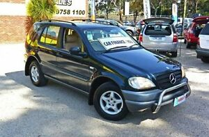 2000 Mercedes-Benz ML320 W163 MY2000 Classic 5 Speed Automatic Wagon Upper Ferntree Gully Knox Area Preview