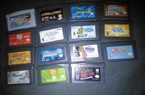 12 GBA GAMES FOR SALE
