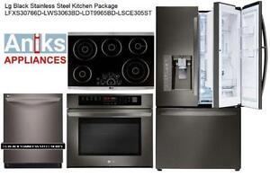 LG LFXS30766D 36in Black Stainless Steel Door-in-Door French Doo
