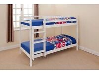 2ft6 White Pine Bunk Bed