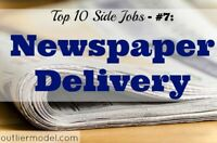 Early Morning Newspaper Delivery Driver Wanted