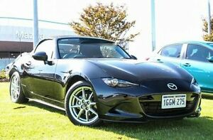 2015 Mazda MX-5 ND SKYACTIV-Drive Black 6 Speed Sports Automatic Roadster Wangara Wanneroo Area Preview
