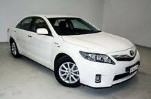 2010 Toyota Camry AHV40R MY10 Hybrid White 1 Speed Constant Variable Sedan Edgewater Joondalup Area Preview