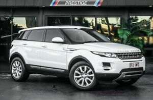 2015 Land Rover Range Rover Evoque LV MY15 TD4 Pure White 9 Speed Automatic Wagon Bowen Hills Brisbane North East Preview