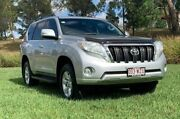 2016 Toyota Landcruiser Prado GDJ150R MY16 GXL (4x4) Silver Pearl 6 Speed Automatic Wagon Oakey Toowoomba Surrounds Preview