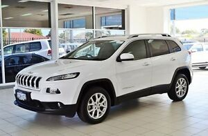 2014 Jeep Cherokee KL Longitude (4x4) White 9 Speed Automatic Wagon Morley Bayswater Area Preview