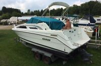 DONT MISS THIS ONE!!!  1992 RInker with trailer