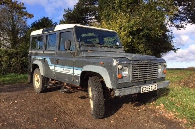 Land Rover defender 110 county station wagon 1985 2.5 diesel