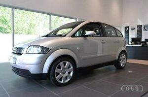 2003 Audi A2 Silver Manual Hatchback Burwood Whitehorse Area Preview
