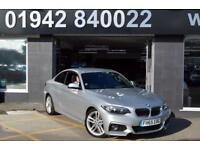 2015 65 BMW 2 SERIES 2.0 220D M SPORT 2D 188 BHP 6SP DIESEL SPORT COUPE, 15,000M