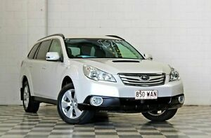 2011 Subaru Outback MY11 2.0D White 6 Speed Manual Wagon Burleigh Heads Gold Coast South Preview